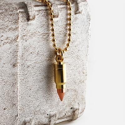 SVN-#121 GoldBullet 총알목걸이