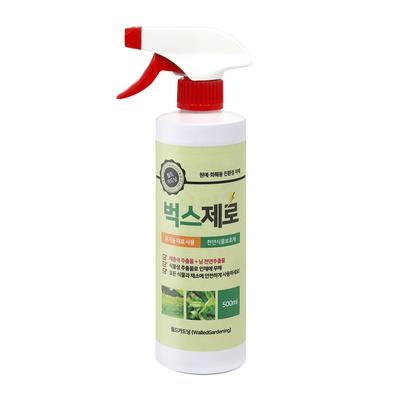벅스제로 500ml  식물영양제 화분벌레 응애 진딧물