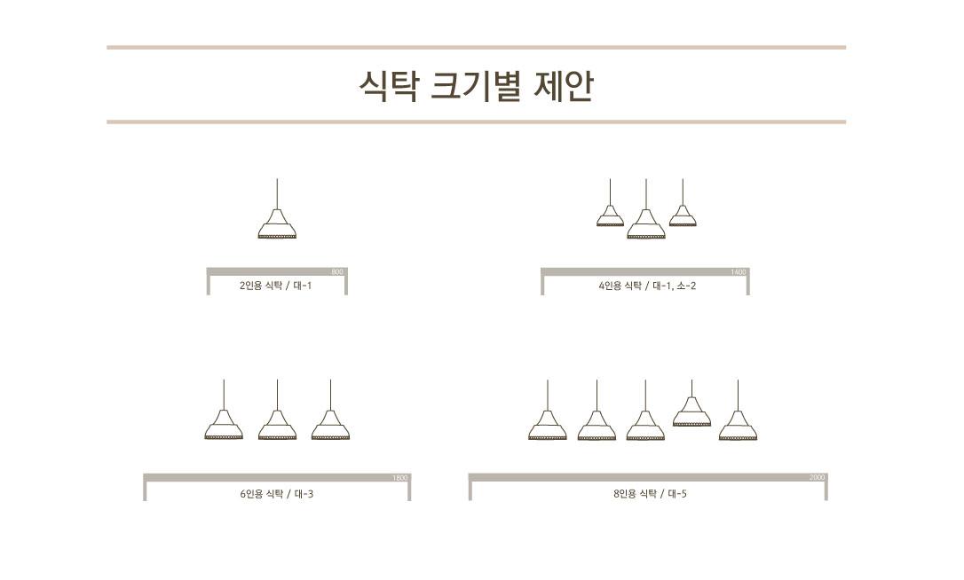 캐슬 소 1등 펜던트 - 엔제이라이팅, 110,000원, 디자인조명, 팬던트조명