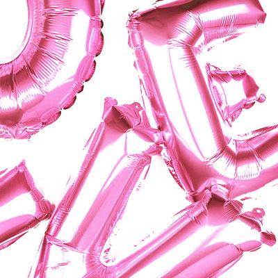 이벤트 생일 파티 레터링 이니셜 알파벳 풍선 1M
