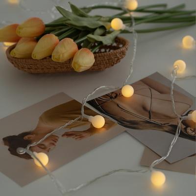크리스마스 LED 꼬마 트리 앵두 전구 조명 장식