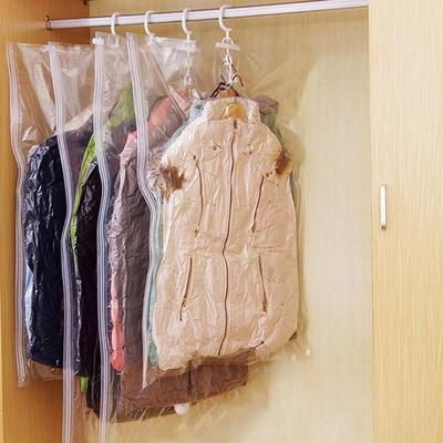 겨울 옷 패딩 옷장 정리 진공 의류 압축팩