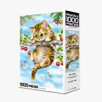 직소퍼즐 1000피스 체리 고양이 HP1004