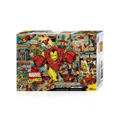 직소퍼즐 500조각 마블코믹스 아이언맨 MA05-012