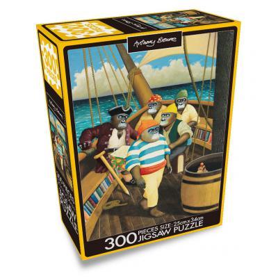 직소퍼즐 300조각 앤서니 브라운 보물섬 HS300-0744