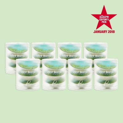 민트밤 헤어마스크 캡슐 24개 (얇은모발용)