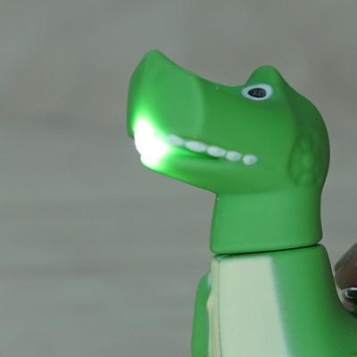 티라노 공룡 라이트 키링