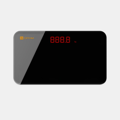 쿨시스템 지그램 휴대용 체중 몸무게 측정기계 모바일연동