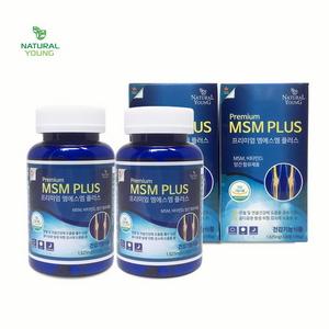 내츄럴영 프리미엄 MSM PLUS 글루코사민 관절 골다공증 비타민D 4개월분 캐나다정품