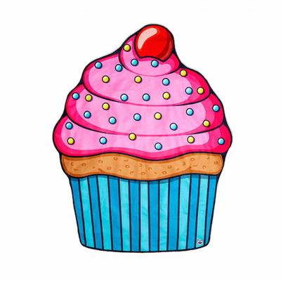 컵케이크 비치 블랑켓  타월