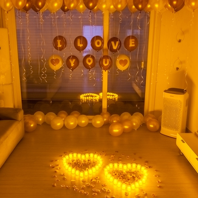 프로포즈 이벤트 용품 LED촛불 세트 G