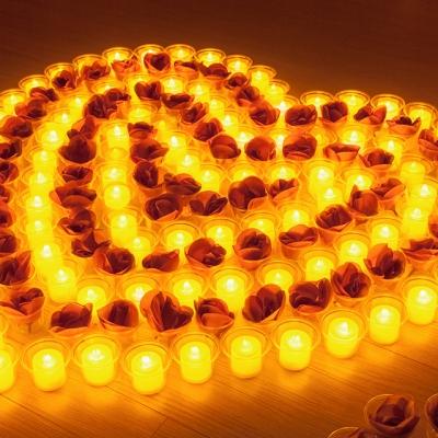 프로포즈 이벤트 용품 LED촛불 세트 E