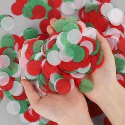 버블컨페티 크리스마스 3색혼합