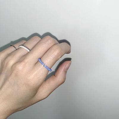 blue_celeste_r 블루세레스트 비즈반지