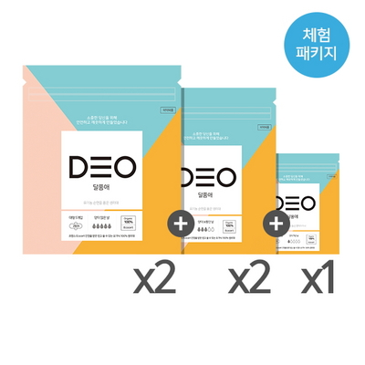 (체험패키지) 유기농 생리대 달품애 (30ps)