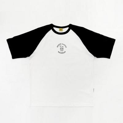 스웩버 3511-래글런(화이트)_오버핏 티셔츠