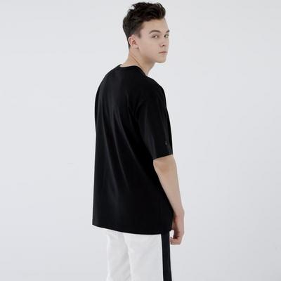 스웩버 3509-브로큰글라시스(블랙)_오버핏 티셔츠
