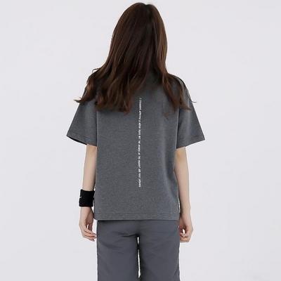 W_루디아 3605-페이머스세잉(다크멜란지그레이)_오버핏 티셔츠
