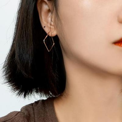 14K 캐넌 귀걸이 실버 925
