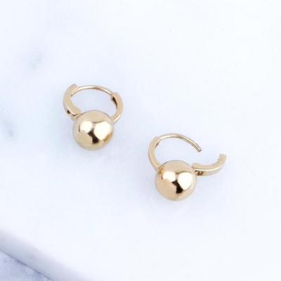 14K 캐틀벨 원터치 귀걸이