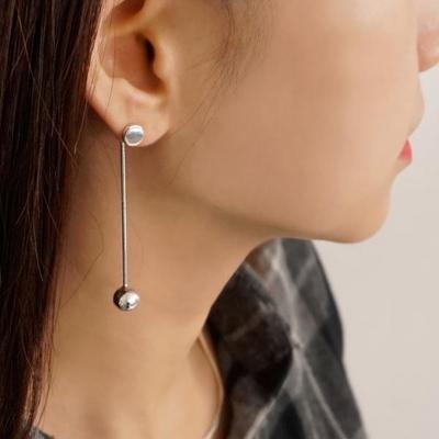 펜듈럼 실버 925 귀걸이