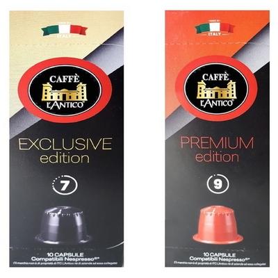 란티코 캡슐 커피 특가 2종 특가  120개 캡슐 - 네스프레소호환캡슐