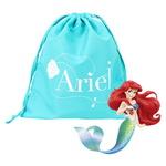 디즈니 정품 인어공주 조리개 가방