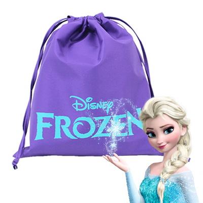 디즈니 정품 겨울왕국 조리개 가방