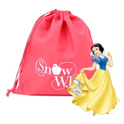 디즈니 정품 백설공주 조리개 가방