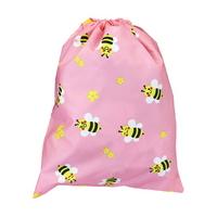 핸드메이드 다용도 방수 조리개 가방 꿀벌 핑크 소풍 학교 학원 수영복 파우치 에코백 신주머니