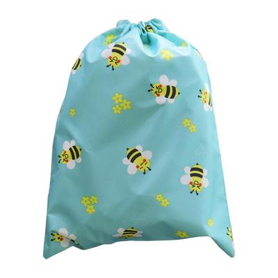 핸드메이드 다용도 방수 조리개 가방 NEW 꿀벌 민트 소풍 학교 학원 수영복 파우치 에코백 신주머니