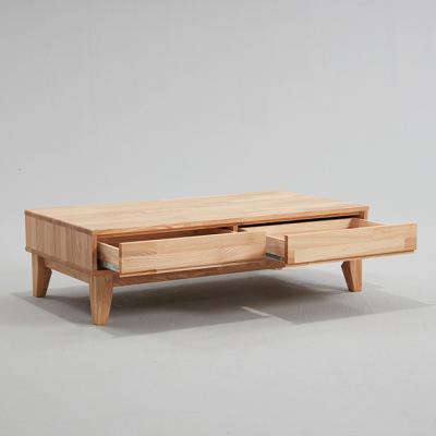니도어 에쉬 원목 소파 테이블