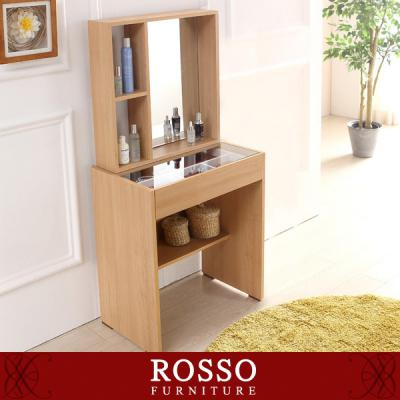 나르케600 거울수납장 화장대세트(의자포함)