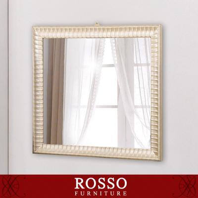 로맨틱 골든 사각 반신거울-벽걸이형
