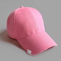 투스티치 볼캡 -핑크