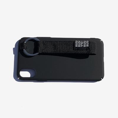 아이폰8 뉴니스 캐주얼 벨트 키링 아이폰케이스 - 블랙