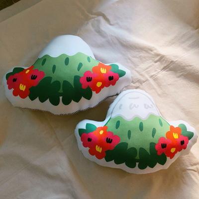 초록땅 한라산 손바느질 쿠션 키링