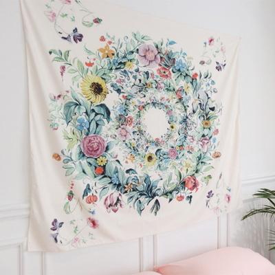 꽃바람리스 패브릭포스터 150x130cm