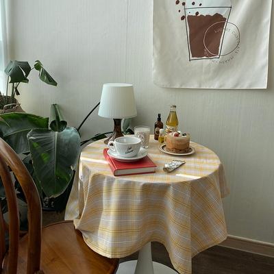 온더레몬파스텔 식탁보 테이블보 110x110cm
