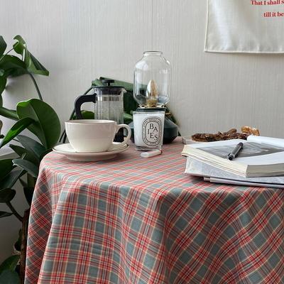 온더레인보우샤베트 식탁보 테이블보 110x110cm