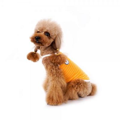 강아지옷 쿨썸머 나시 -오렌지