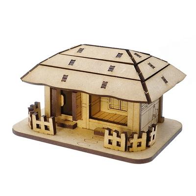 한국의 전통가옥 초가집 입체퍼즐