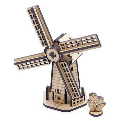 네덜란드 랜드마크 풍차 입체퍼즐
