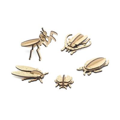 나무 곤충 만들기 5종 set
