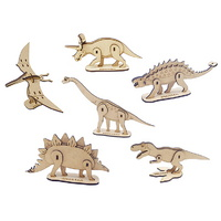 모또 쥬라기월드 공룡시리즈 6종 입체퍼즐 만들기