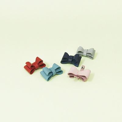 Ribbon Gift - Solid Ribbon Collar M Black
