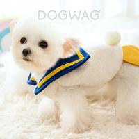 도그웨그 스쿨덕 티셔츠 조끼 강아지 겨울 옷 애견
