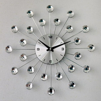 데일리데코 먼델 크리스탈 시계 (소)