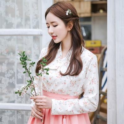 벚꽃엔딩 저고리