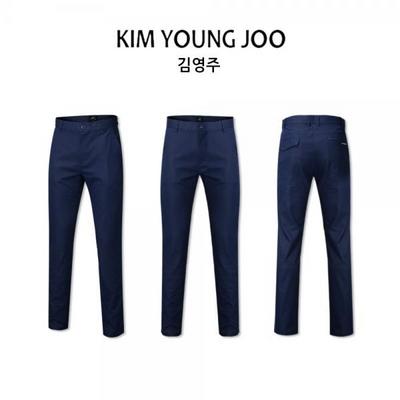 김영주 남성 가볍고 따뜻한 가을 바지 K19FMPT051